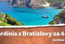 letenky z Bratislavy do Sardínie