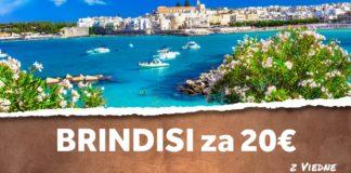 letenky z Viedne do Brindisi za 20€