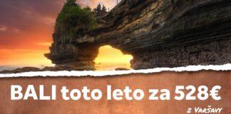 letenky z Varšavy na Bali za 528€