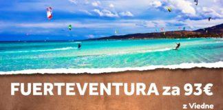 Fuerteventura z Viedne za 93€