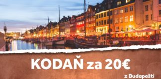 letenky z Budapešti do Kodane