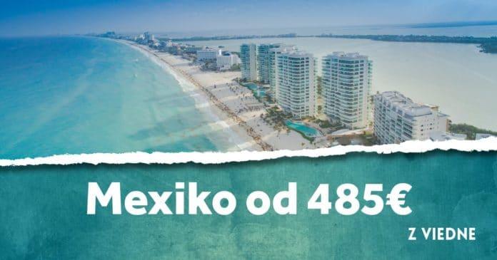 letenky z Viedne do Mexika od 485€