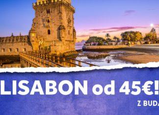 letenky z Budapešti do Lisabonu od 45€
