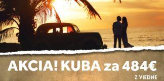 letenky z Viedne na Kubu za 484€