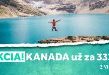 letenky z Viedne do Kanady