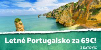 letenky z Katovíc do Algarve za 69€