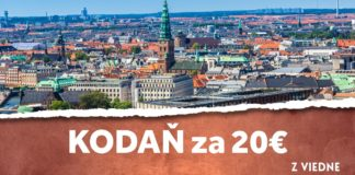 letenky z Viedne do Kodane