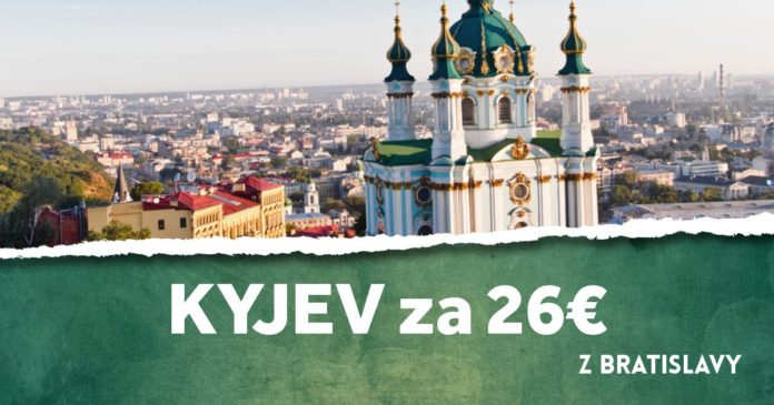 letenky z Bratislavy do Kyjeva