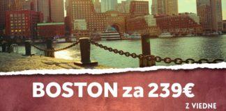 letenky z Viedne do Boston-u
