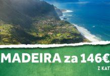 letenky na Madeiru za 146€
