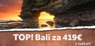 letenky z Varšavy do Bali