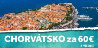 letenky z Viedne do Chorvátska