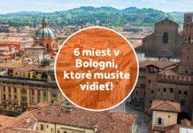 6 miest v Bologni, ktoré musíte vidieť