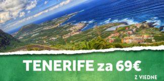 letenky z Viedne do Tenerife za 69€