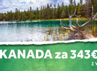 letenky z Viedne do Kanady za 343€