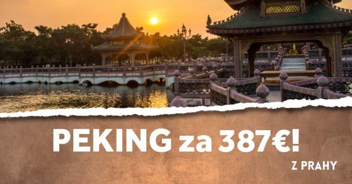 letenky z Prahy do Pekingu za 387€!