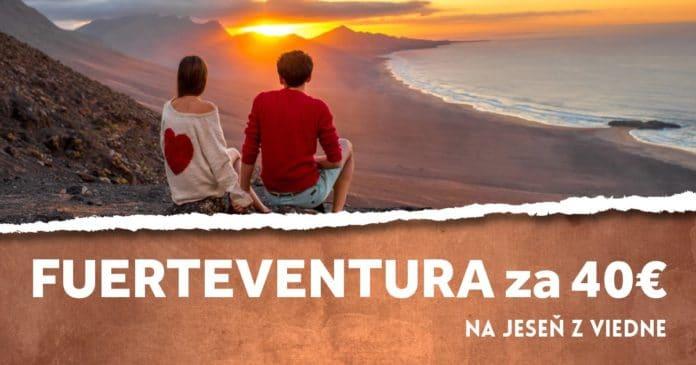 letenky z Viedne na Fuerteventura