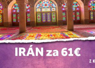 letenky z Kyjeva do Iránu za 61€