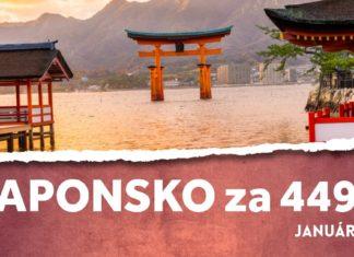 letenky do Japonska za 449€