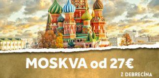 letenky z Debrecína do Moskvy od 27€