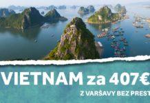 letenky z Varšavy do Vietnamu