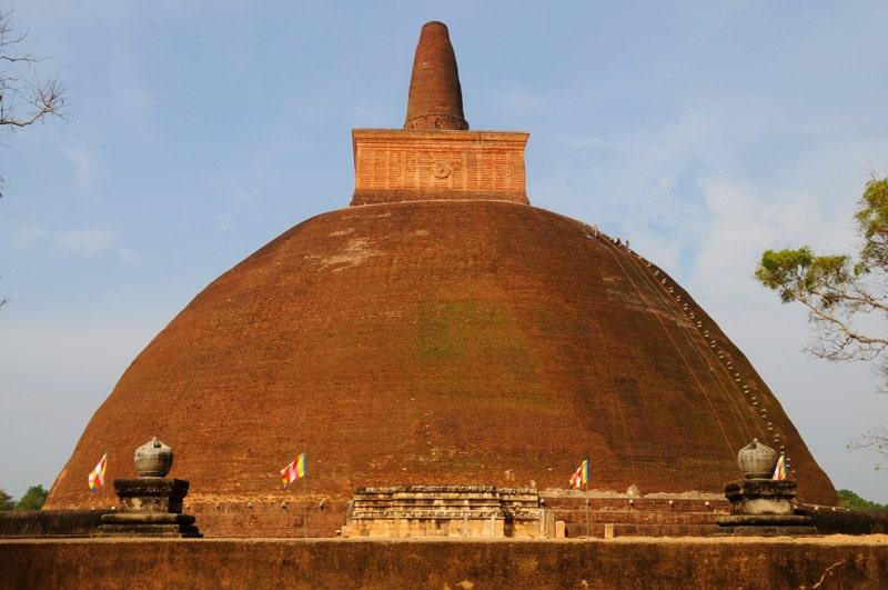 Anuradhapura a obrovska dagoba