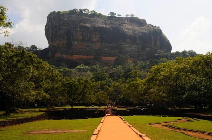 Sigiriya je najslavnejsia skala Sri Lanky
