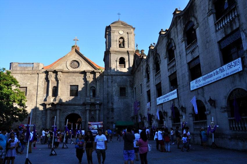 Vdaka kostolikom je Manila v UNESCO
