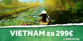 z mníchova do Vietnamu za 299€