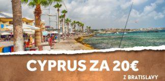 letenky z Bratislavy na Cyprus za 20€