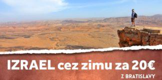 Izrael z Bratislavy - letenky za 20€