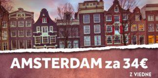 Amsterdam s odletom z Viedne už za 34€