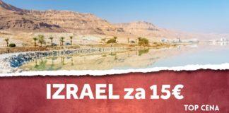 letenky do Eilatu za 15€