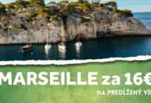 Marseille na predĺžený víkend
