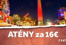 letenky z Katovíc do Atén