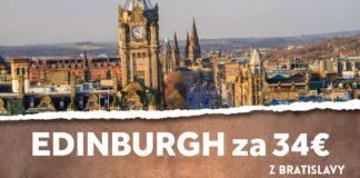 letenky z Bratislavy do Edinburgh-u
