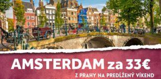 letenky z Prahy do Amsterdamu