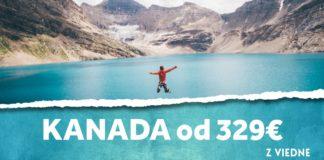 letenky z Viedne do Kanady od 329€