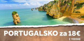 letenky do Portugalska za 18€