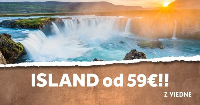 letenky z Viedne na Island od 59€