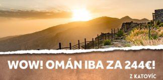 letenky z Katovíc do Ománu