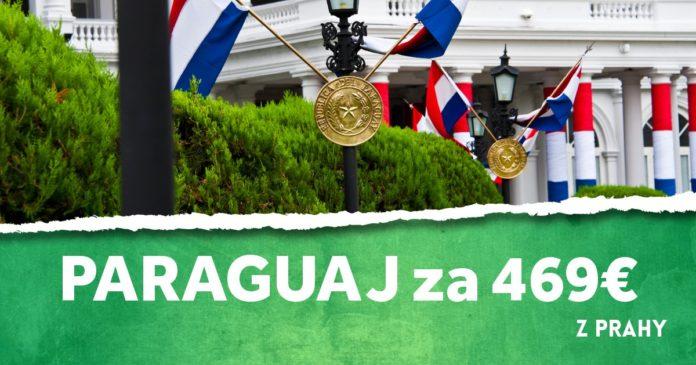 letenky z Prahy do Paraguaja