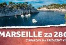 letenky do Marseille za 28€
