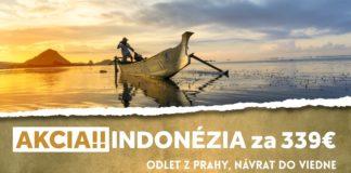 letenky do Indonézie za 339€