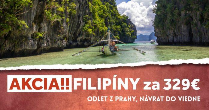 letenky na Filipíny za 329€