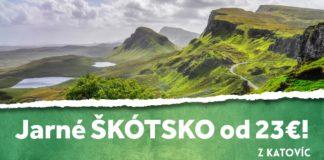 letenky z Katovíc do Škótska