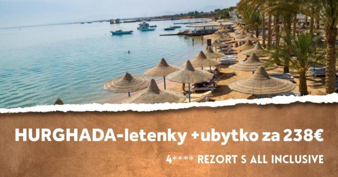 dovolenka v Egypte za 238€