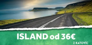 letenky z Katovíc na Island