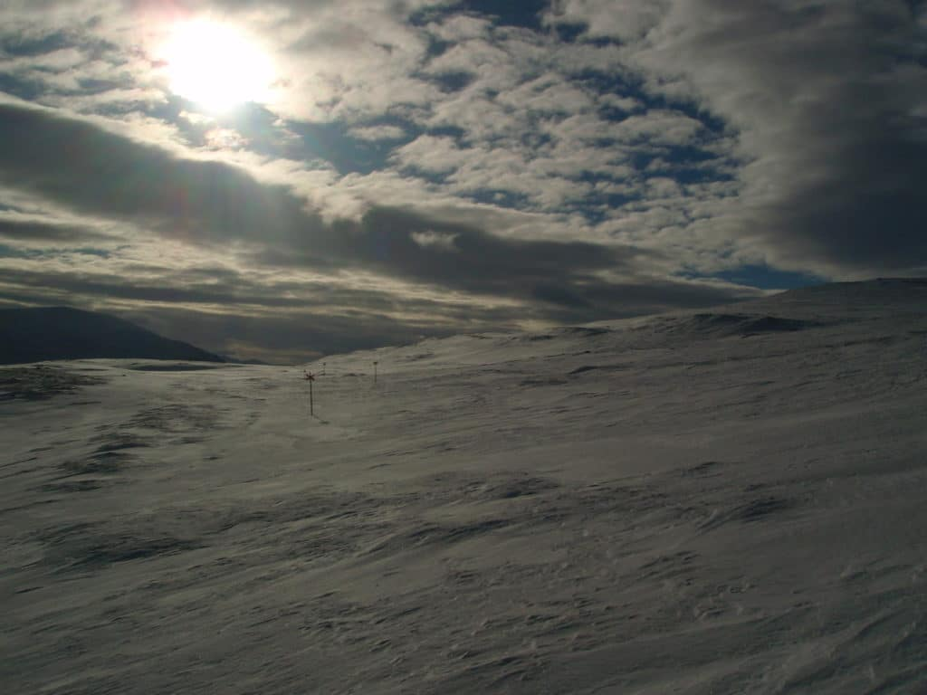 sneh a obloha