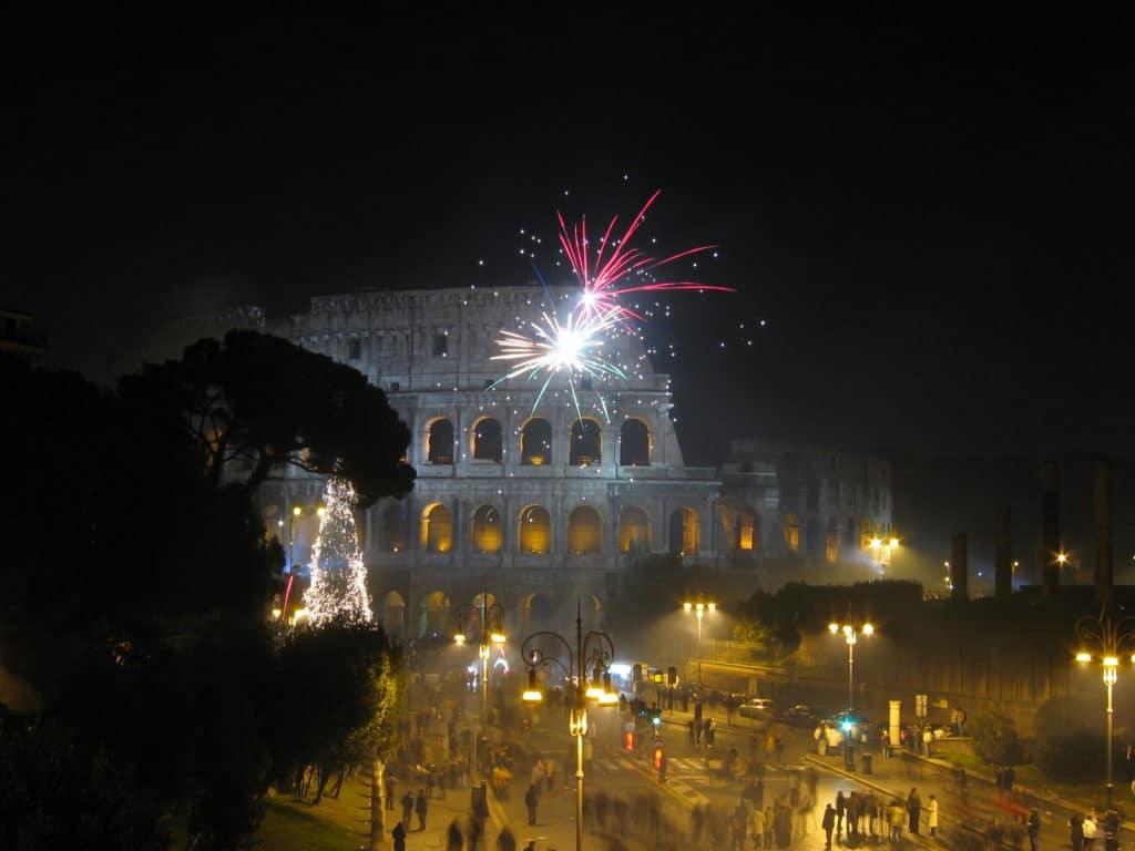 Rím ohňostroj